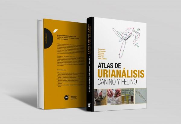 Atlas de urianálisis canino y felino -Manuales prácticos