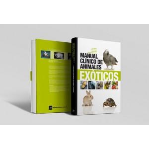 Manual clínico de animales exóticos -Libros veterinaria de referencia